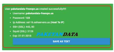Cara Membuat Akun SSH SSL Gratis Selamanya dari FreeVPN
