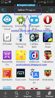 Back Up file Apk Apikasi Android