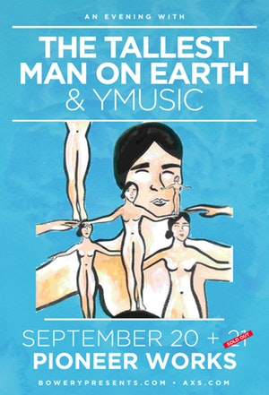 Brooklyn World: Thursday Night in Red Hook: The Tallest Man on Earth