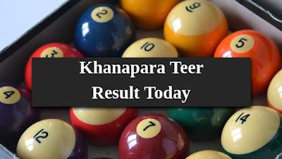 Khanapara Morning Teer Result Today