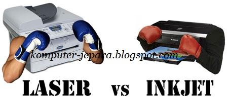 Printer Inkjet Tinta atau Laserjet, Pilih mana ?