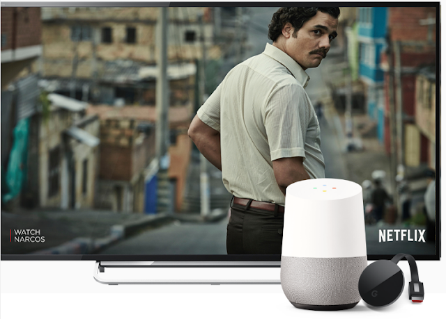 Google Home Speaker Hands-free help from the Google Assistant