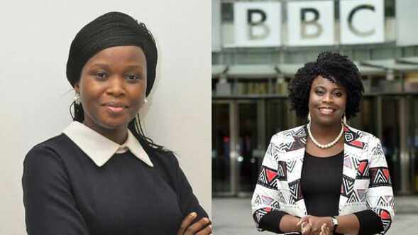 Rachael Akidi Okwir and Toyosi Ogunseye