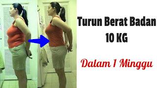 Cara Menurunkan Berat Badan Secara Alami Cepat