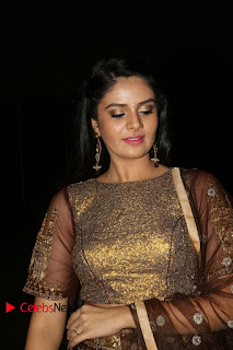 Actress Anchor Sri Mukhi Pictures at Araku Road Lo Audio Launch  0168.JPG