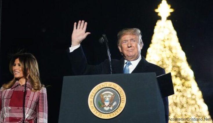 Donald Trump Árbol de Nacional de Navidad