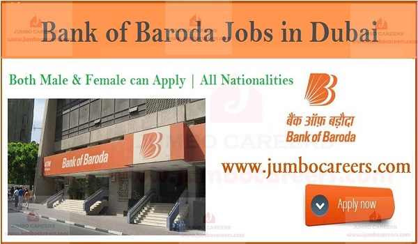 Show the details banking jobs in Dubai, Jobs in Gulf countries,