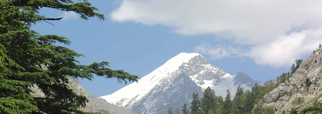 Swat Valley is situated in which mountain range?