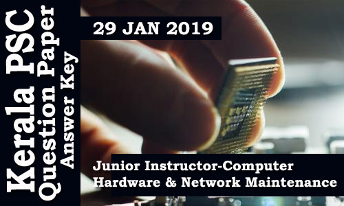 Junior Instructor-Computer Hardware and Network Maintenance