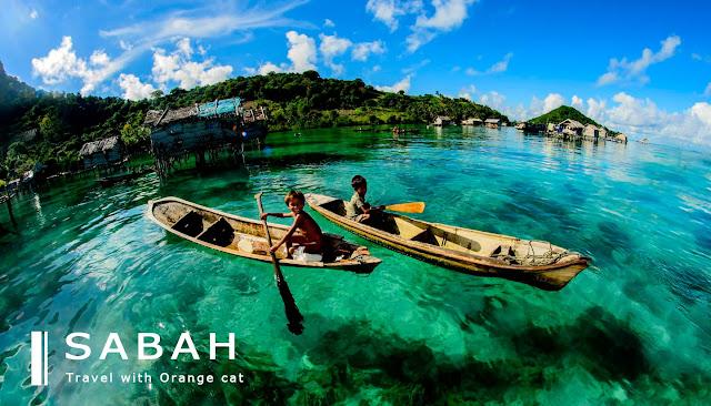 Tempat Wisata Laut Berair Jernih Di Dunia, Sabah Malaysia, santuytimes.com