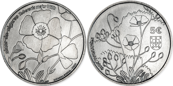Portugal 5 euro 2019 Tuberaria Major