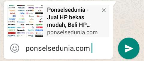 Cara Menampilkan Thumbnail Pada Preview Link WhatsApp