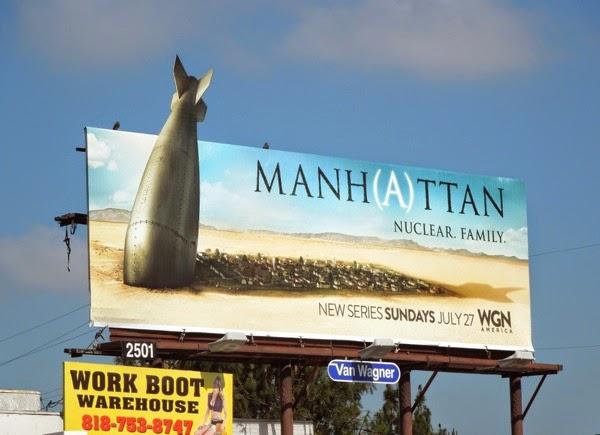 Daily Billboard: Manhattan series premiere TV billboards