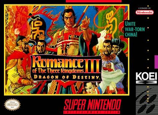 Romance of the Three Kingdoms III - Dragon of Destiny (USA) [ SNES ]