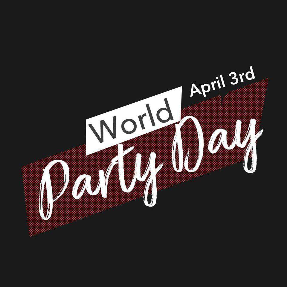 World Party Day Wishes Unique Image