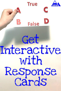 Get interactive with response cards in the classroom.