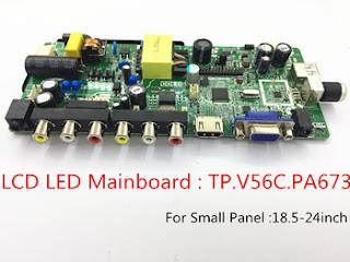 TP.V56.PA673 Universal LED TV Board Software Free Download