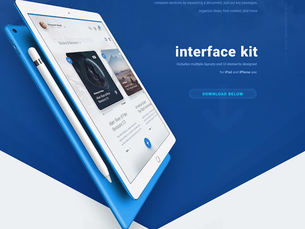 Download LiquidPro UI Kit Free