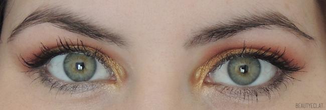 maquillage estival dégradé coucher de soleil tutoriel