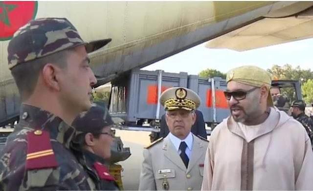 بفضل تعليمات الملك محمد السادس نصره الله المستشفى العسكري الميداني ببنسليمان تم إعداده في ظرف قياسي لمكافحة جائحة كورونا