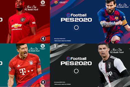 PATCH PES 2020 MOBILE  4.0.1 NOT FULL LICENCED NOT ROOT