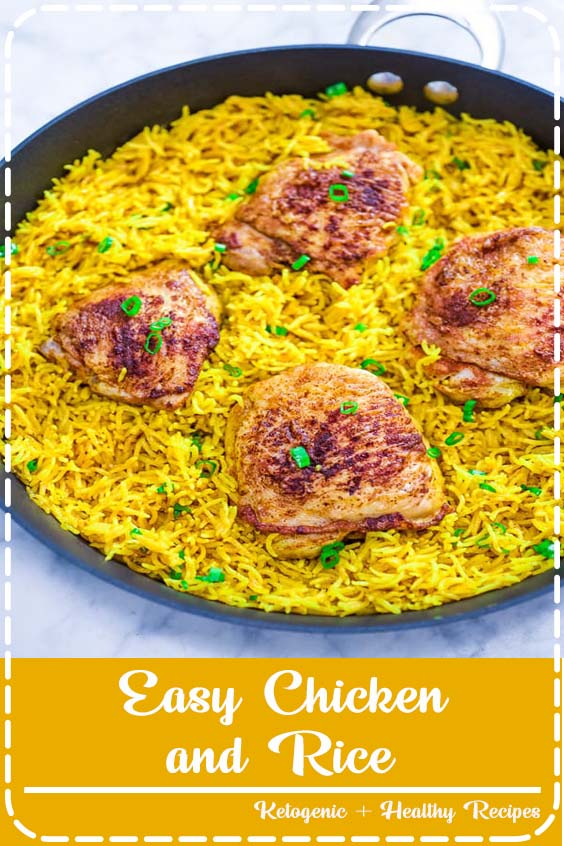 If you are looking for a quick and easy chicken and rice dinner Easy Chicken and Rice