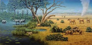 l'homo habilis visse nella savana