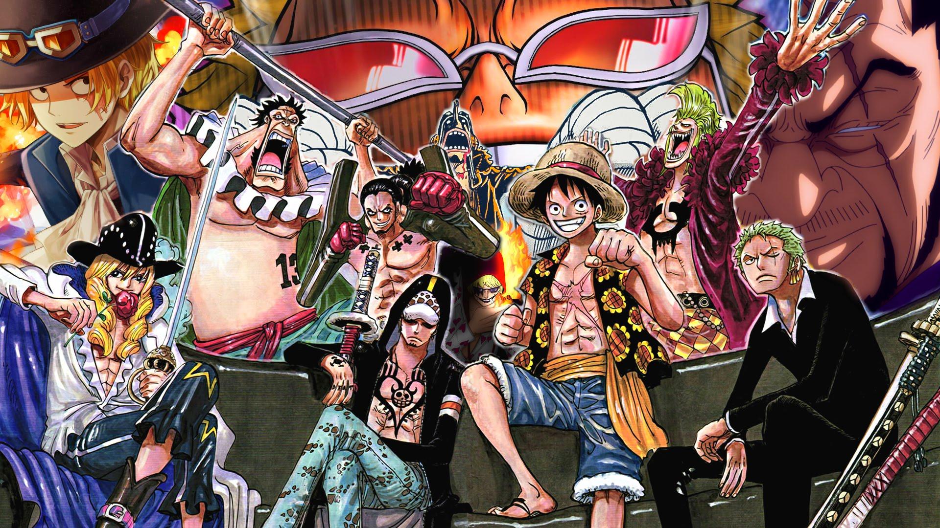 One Piece Arc Dressrosa