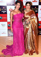 Priyanka Chopra and Rekha Walk the Red Carpet of Zee Awards 2017i ~  Exclusive Galleries 035.jpg