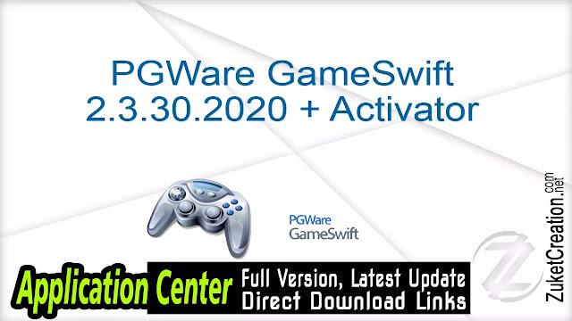 PGWare GameSwift 2.3.30.2020 + Activator