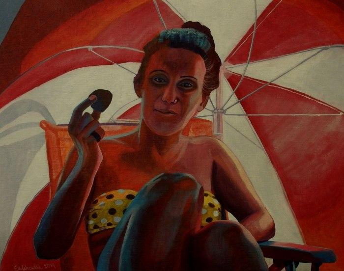 Польская художница. Agata Sulikowska