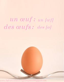 oeuf en français prononciation de egg