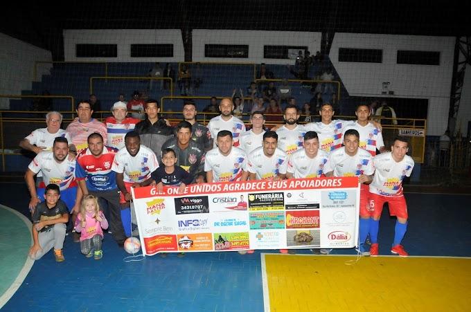 CACHOEIRINHA | Onze Unidos na Semifinal do Municipal do Futsal
