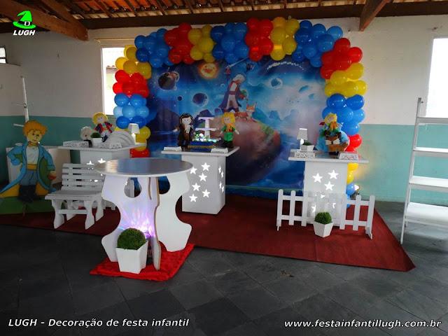 Decoração festa de aniversário infantil tema Pequeno Príncipe - Provençal simples