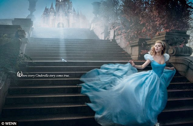 Cinderella 2015 poster movieloversreviews.filminspector.com