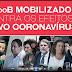 PCdoB mobilizando contra o Coronavírus