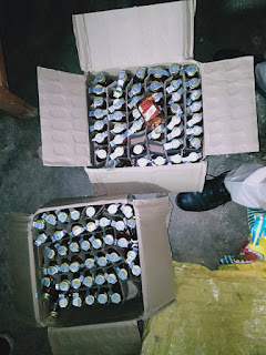 लोधीखेड़ा पुलिस को मिली सफलता, बड़ी मात्रा में पकड़ाई शराब