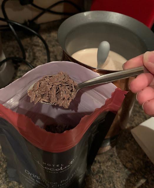 Hotel Chocolat Mince Pie Hot Chocolate
