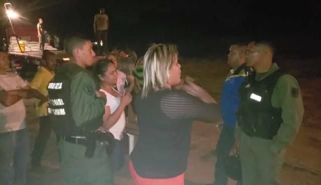 Diputada del PSUV fue capturada contrabandeando azúcar en un camión