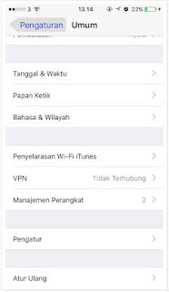 langkah install dan pasang aplikasi ios