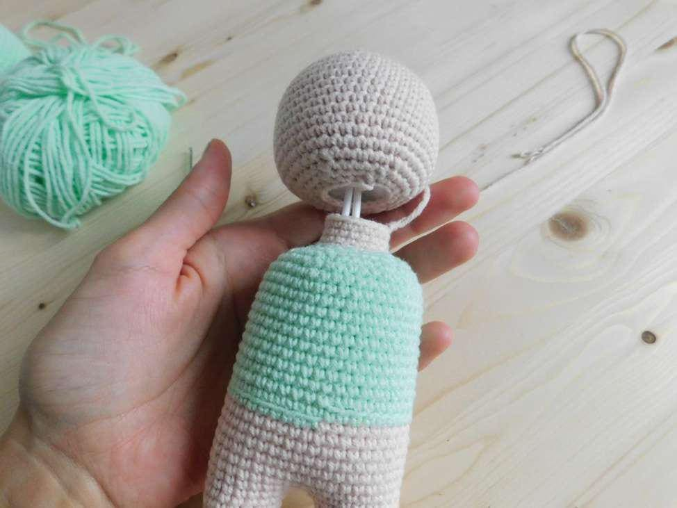 Crochet doll tutorial