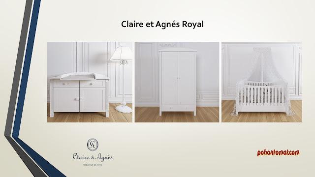 Claire et Agnés tempat tidur