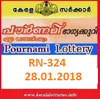 POURNAMI (RN-324) LOTTERY RESULT ON JANUARY 28, 2018