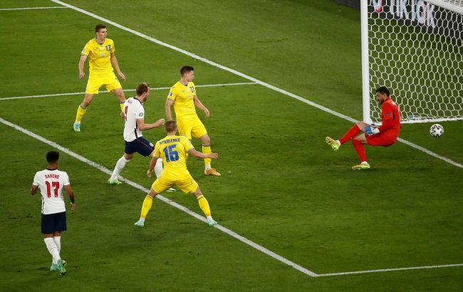 Україна розгромно програла Англії і покинула Євро-2020