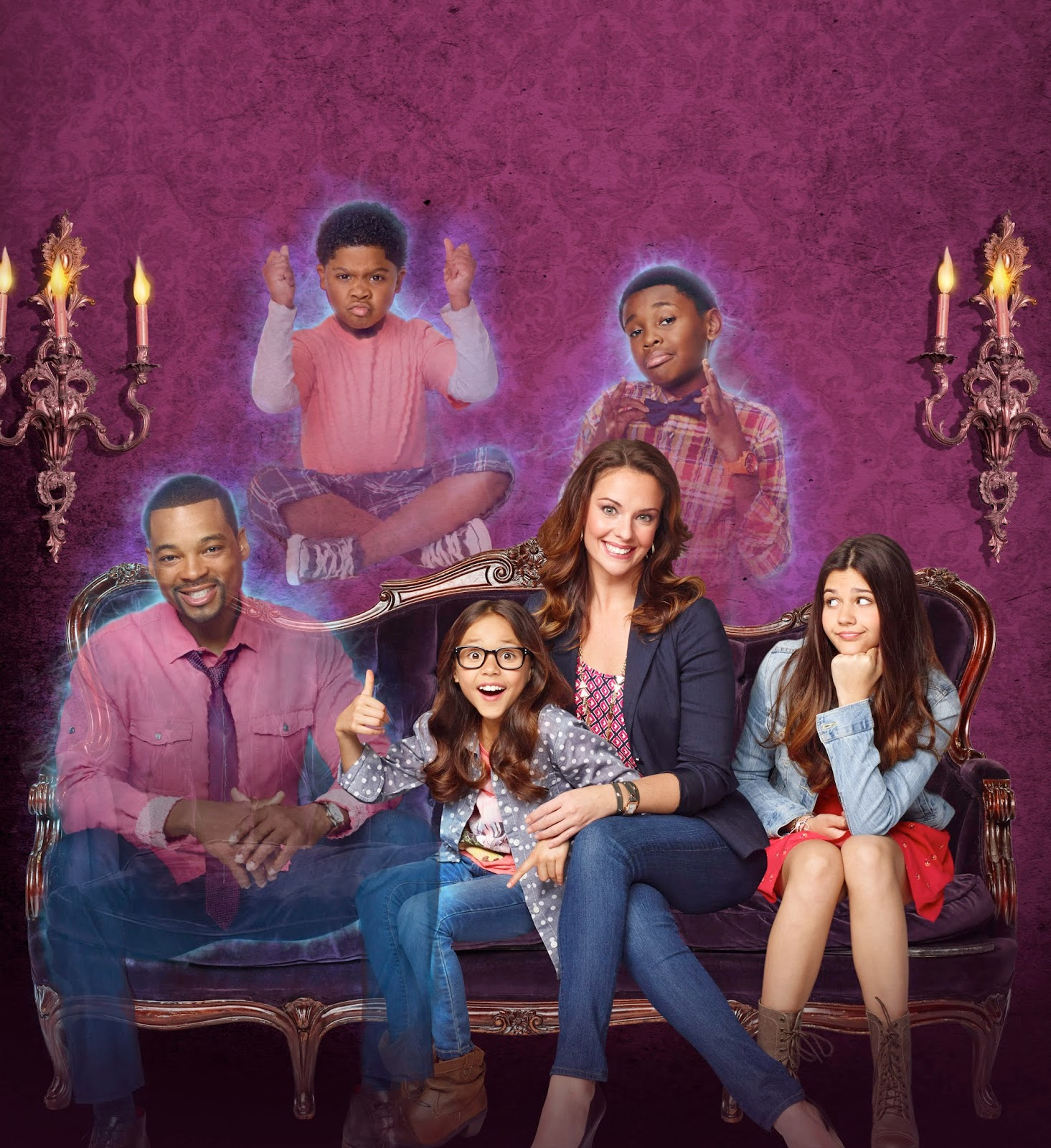 "... Of ""Th... The Haunted Hathaways Cast Names"