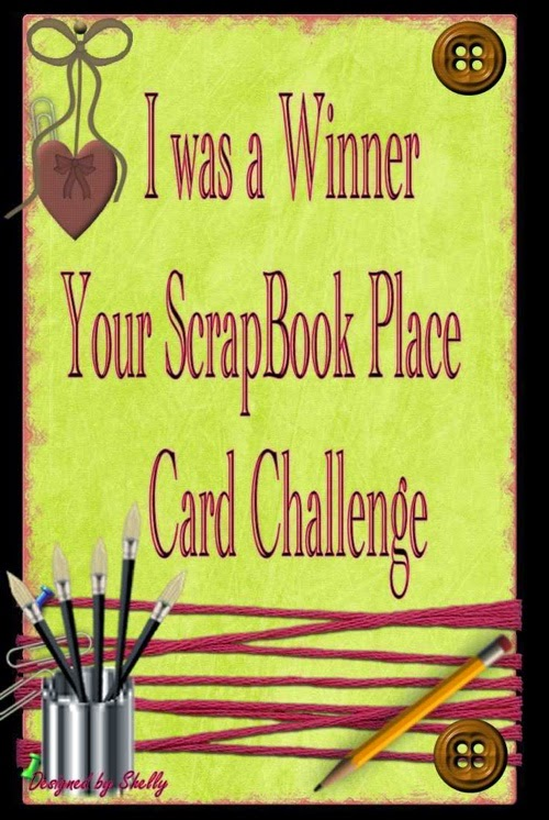 Your Scrapbook Place July Winner