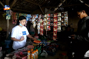 Viral, Penjual Kopi Cantik Di Pelosok Bojonegoro