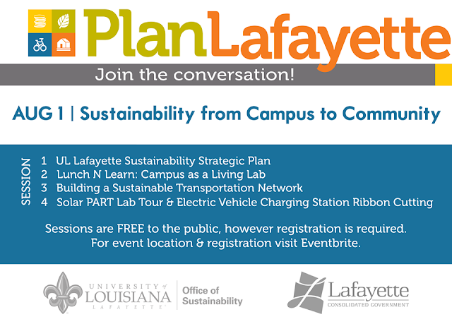 https://sustainability.louisiana.edu/news-events/events/20190710/planlafayette-day-sustainability-campus-community