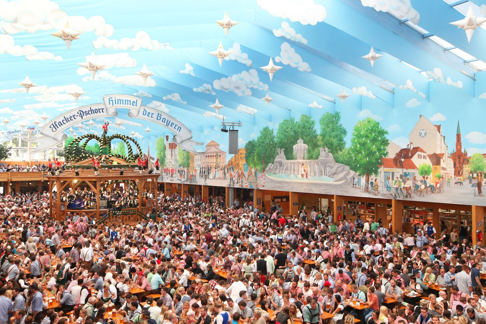 You got to see the tents at Oktoberfest to believe the madness in Munich & Top Beer Tents at Oktoberfest 2017 - Hop On and Hop Off