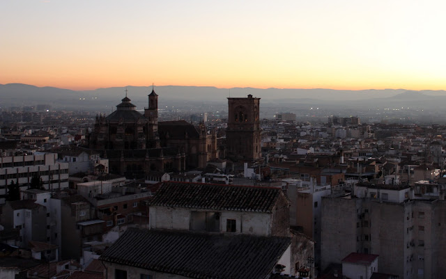 Vistas desde el mirador Ojo de Granada